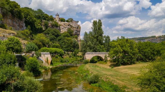 Ancien pont de l'Ouysse