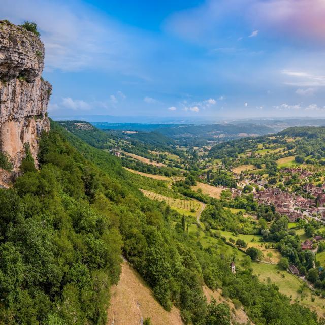 Village et roque d'Autoire