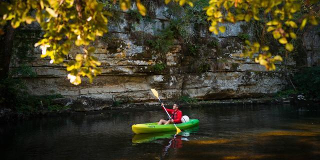 Descente en canoë de la vallée du Célé