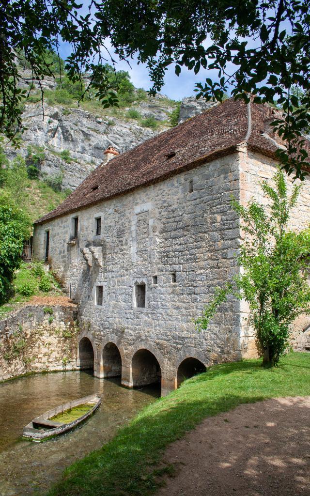 Moulin fortifié de Cougnaguet à Calès