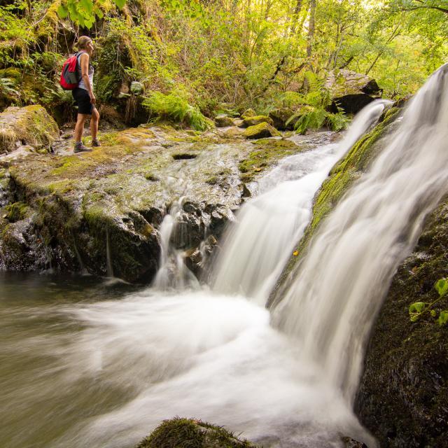Cascade du ruisseau du Bervezou