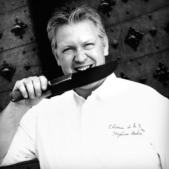 Stéphane Andrieux - chef du restaurant le Château de la Treyne