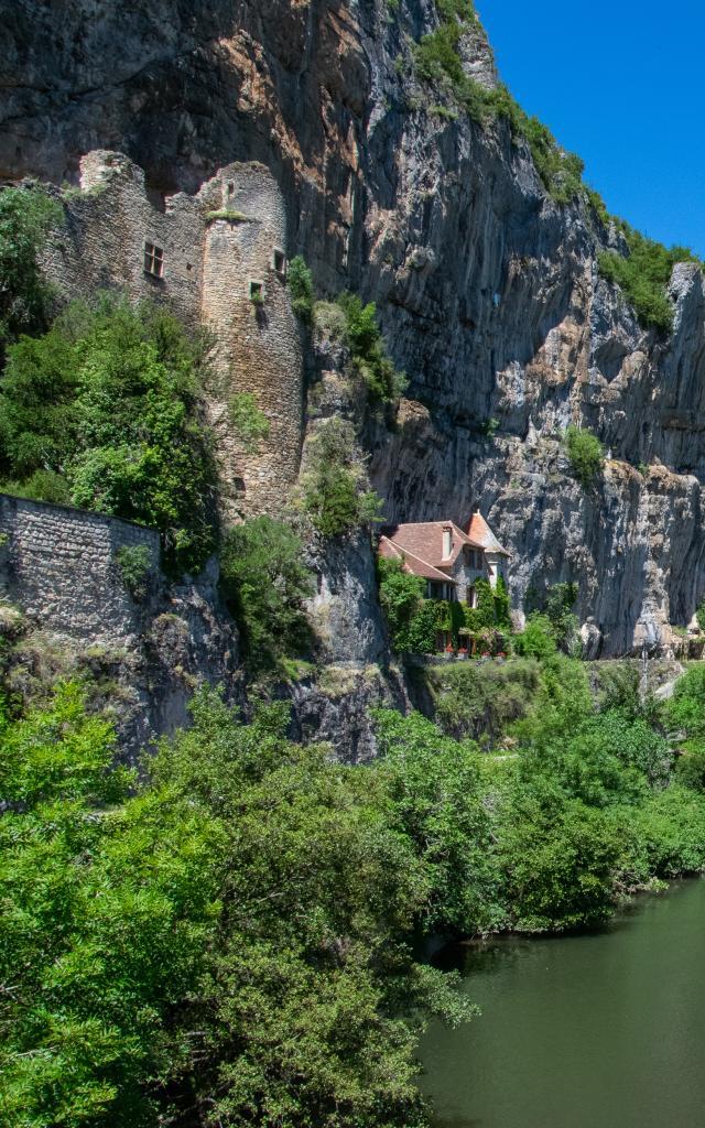 Château des anglais à Cabrerets