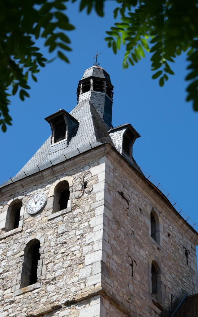 Clocher de l'église de Cajarc