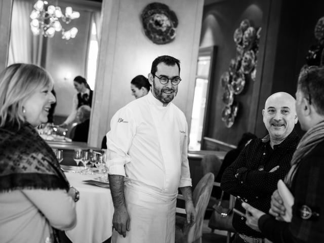 Pascal Bardet chef étoilé du restaurant Le Gindreau