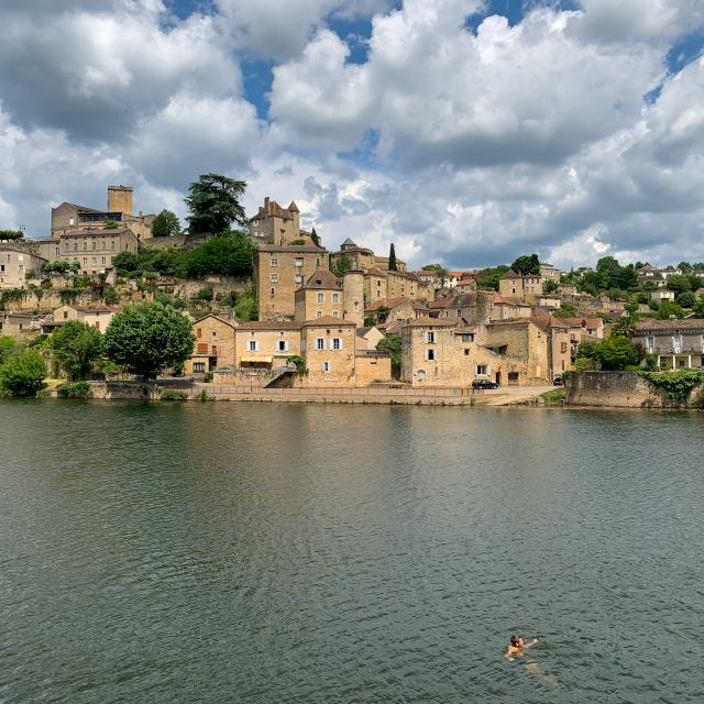 Baignade à Puy L'Eveque