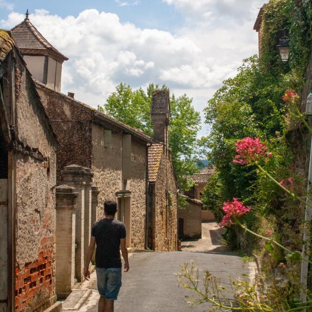 Dans les ruelles de Puy l'Evêque