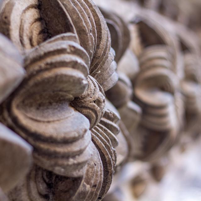 Au portail nord de la Cathédrale de Cahors