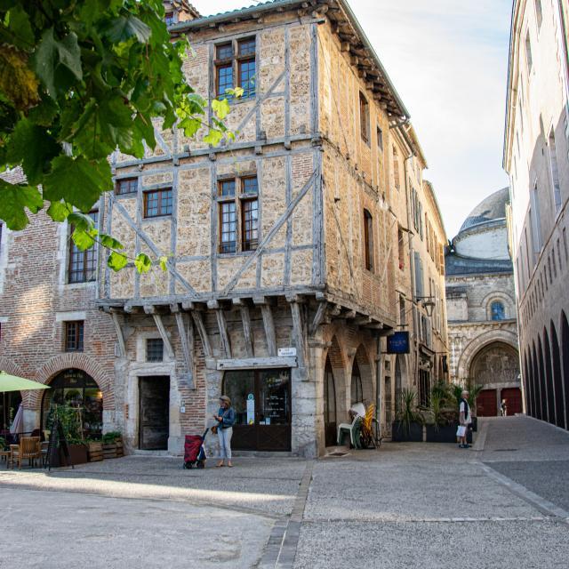 Maison médiévale du 12 rue Daurade à Cahors