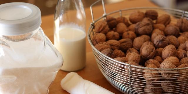 Ingrédients pour la tarte aux noix