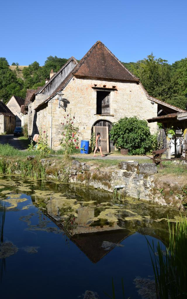 Village de St Martin de Vers