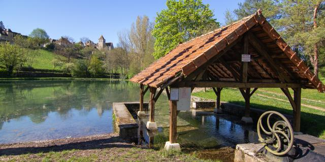 Plan d'eau à Montfaucon