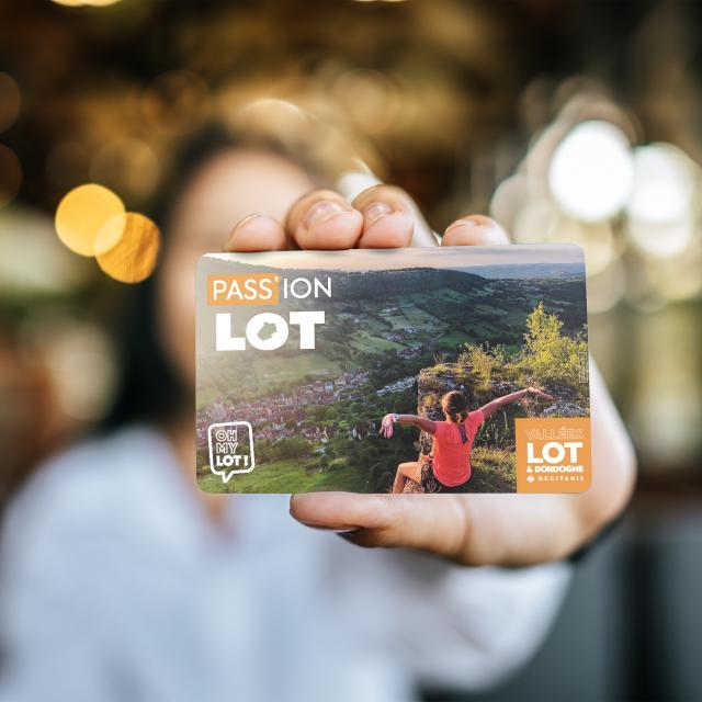 La carte Pass'ion Lot