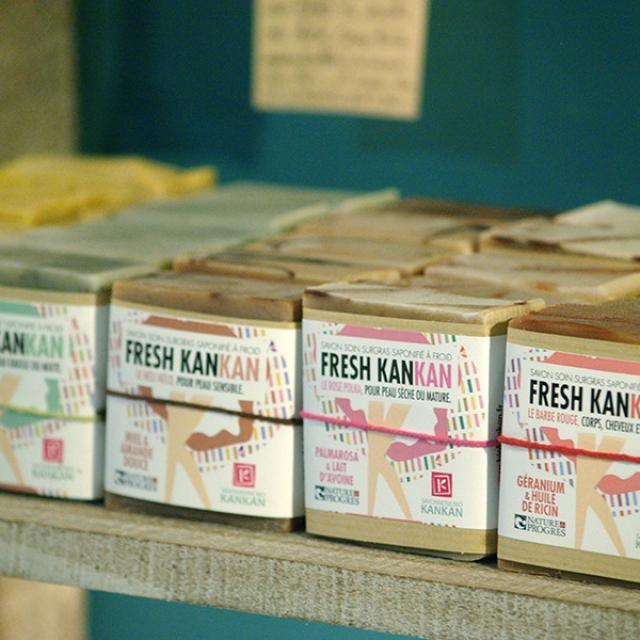 Gamme de savons - Savonnerie bio kankan