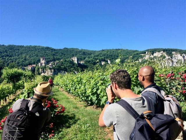 Photographie Du Vignoble De Cahors