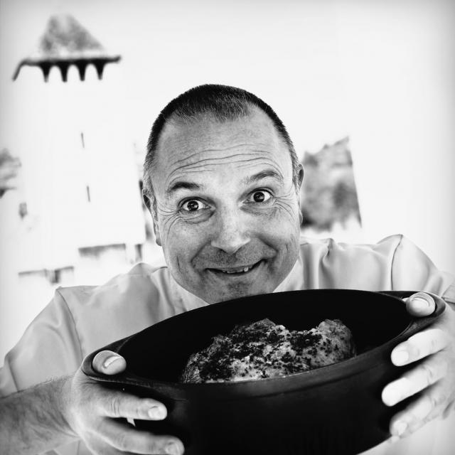Philippe Larguille - chef du restaurant Au Fil des Douceurs