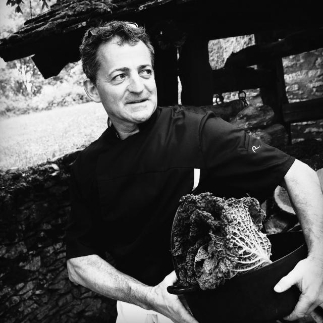 Michel Lemozy - chef du restaurant les Vieilles Tours