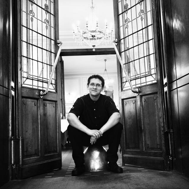 Alexandre Marre - chef du restaurant Le Balandre