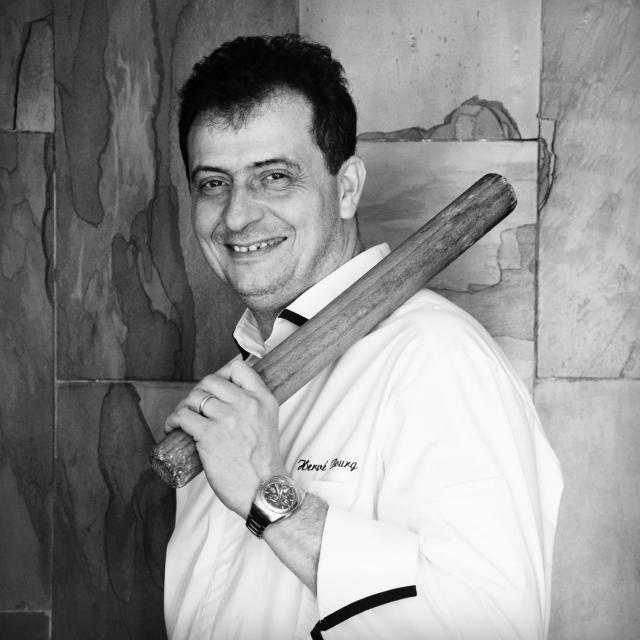 Hervé Bourg - chef du restaurant Le Marché