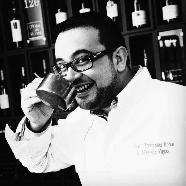 Claude-Emmanuel Robin - chef du restaurant L'Allée des Vignes