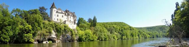 Château de la Treyne, Vallée de la Dordogne à Lacave
