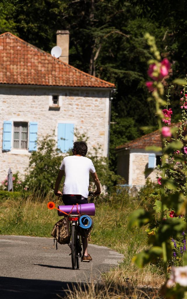 Véloroute à Grézels