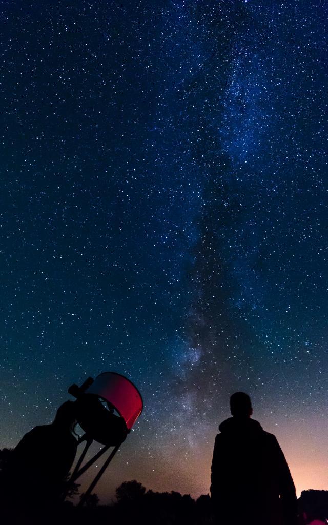 Avec le club d'astronomie de Gramat