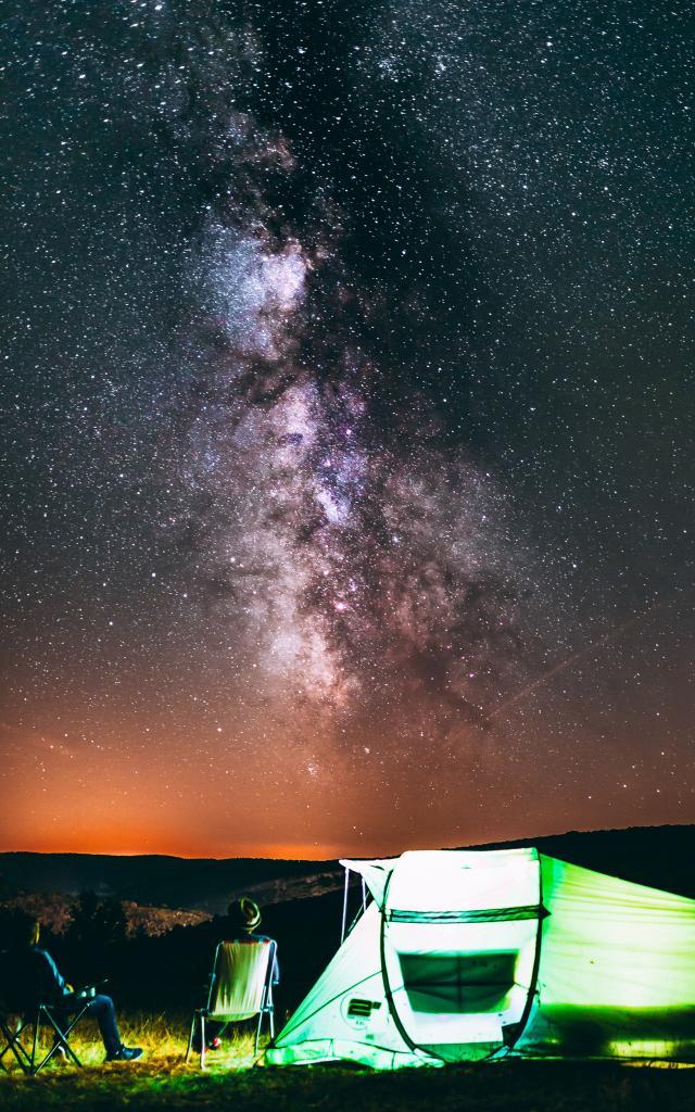 Une nuit à la belle étoile
