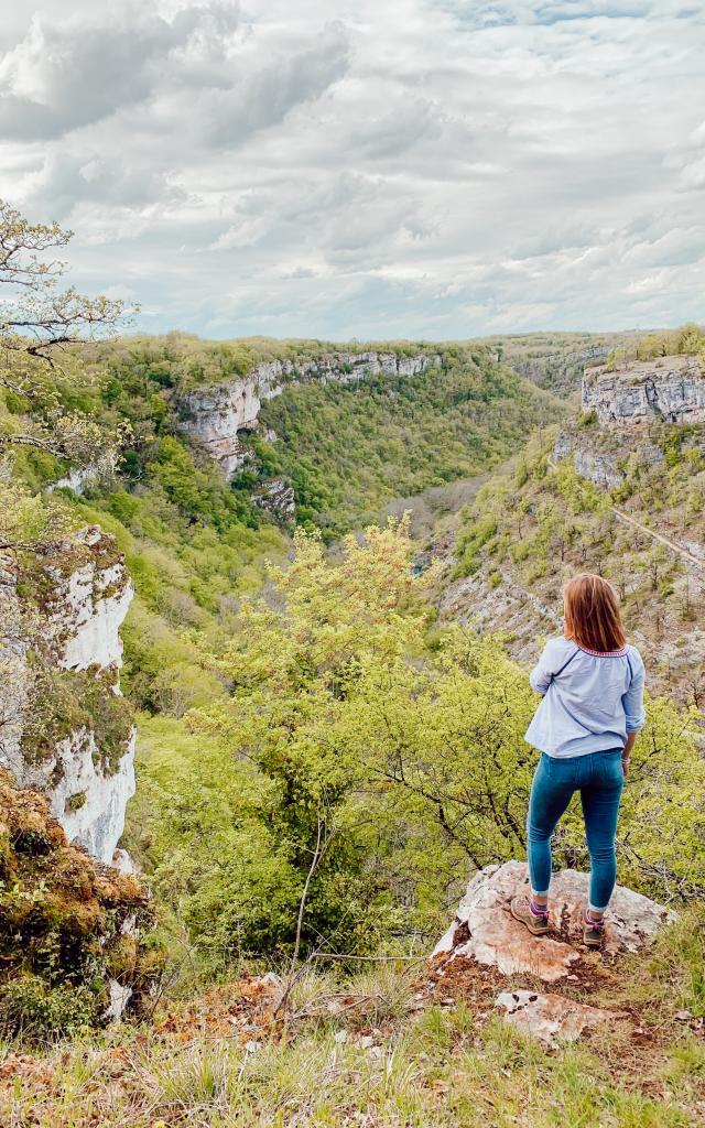 Vallée de l'Alzou - Randonnée du Moulin du Saut