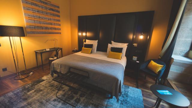 Chambre de l'hôtel Mercure Viguier du Roy