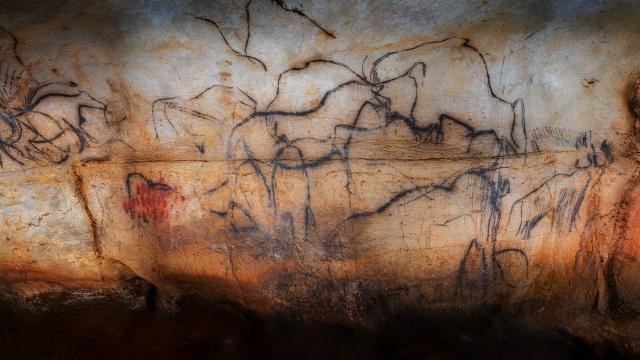 rise Noire - vue générale - Grotte du Pech Merle