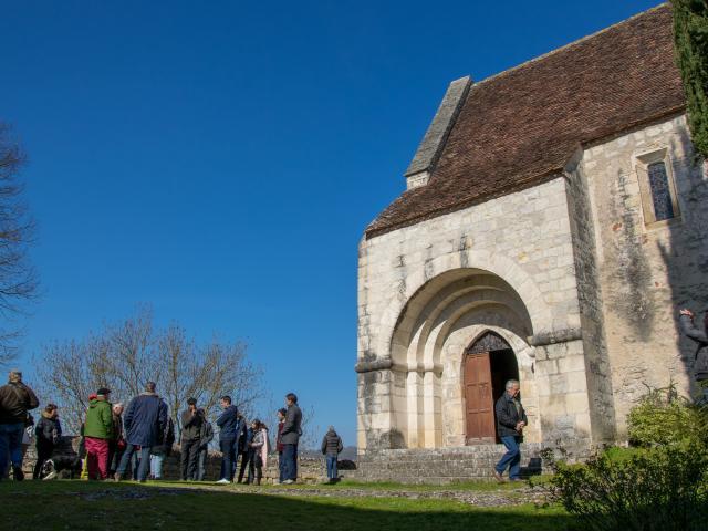 Visite du Village de Creysse