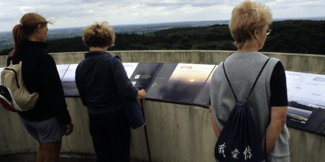 Vue imprenable au sommet du La terrasse du Belvédère