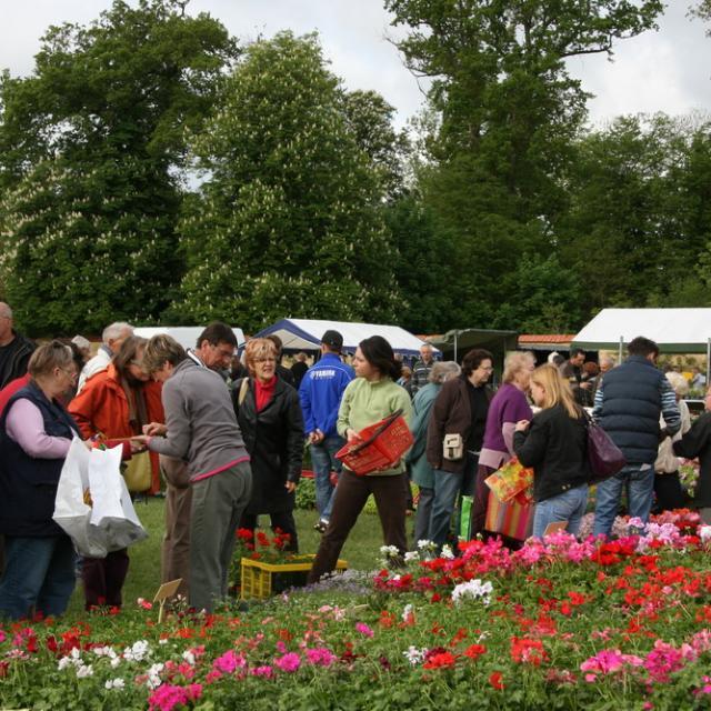 Le marché aux fleurs au Jardin Potager
