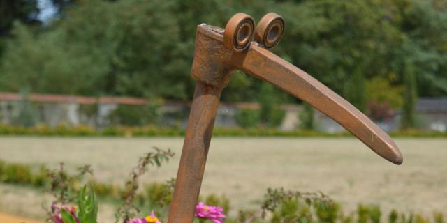 Sculpture au Jardin Potager de Bonnétable