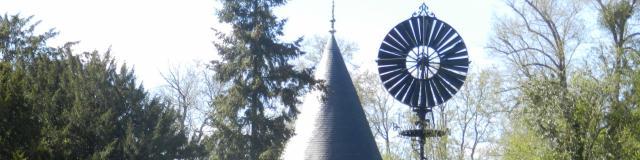 L'éolienne Bollée du Château de Bonnétable