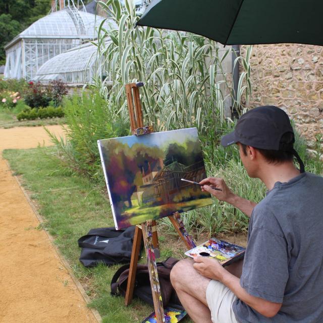 Peintres en Liberté au Jardin Potager