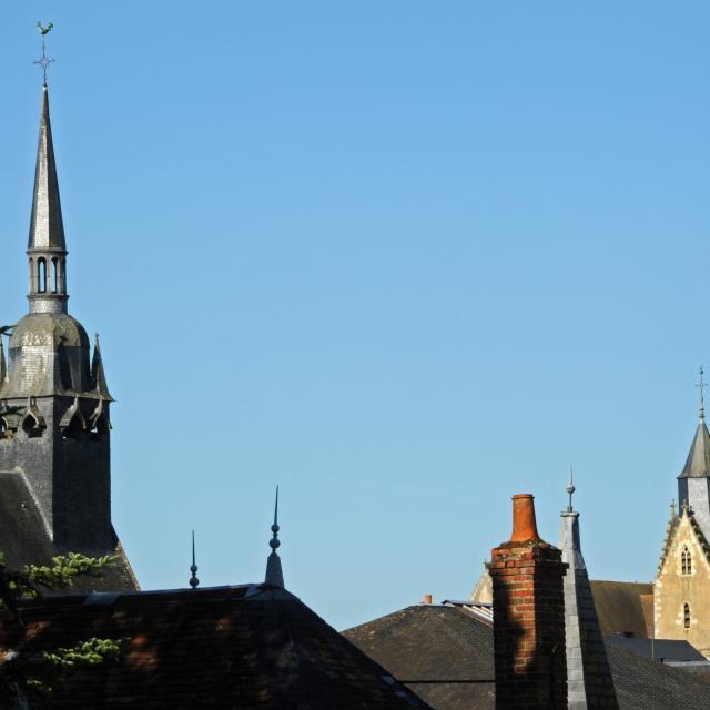 Clochers des églises Notre Dame et saint Nicolas - Mamers