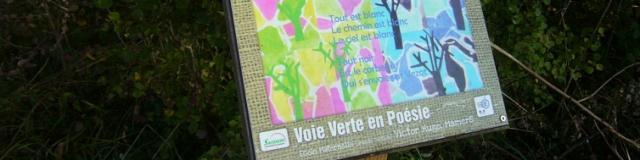 Parcours poétique sur la Voie Verte