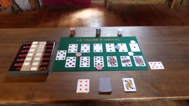 Valise Cheval Jeu de cartes