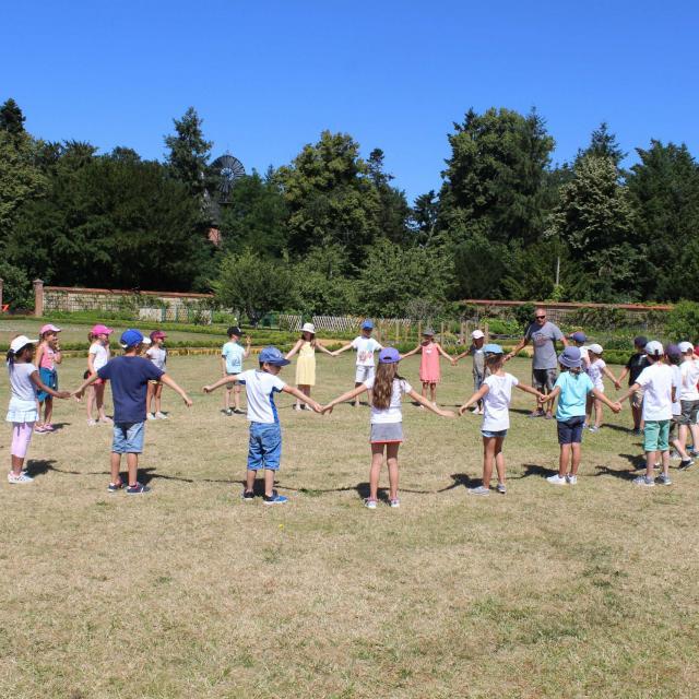 Atelier pédagogique au Jardin Potager