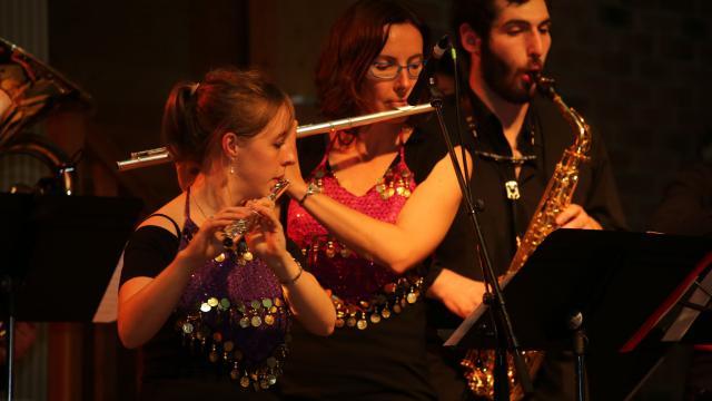 concert de l'école de musique et de danse Maine Saosnois