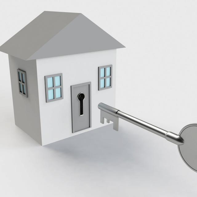 Agence immobilière - illustration