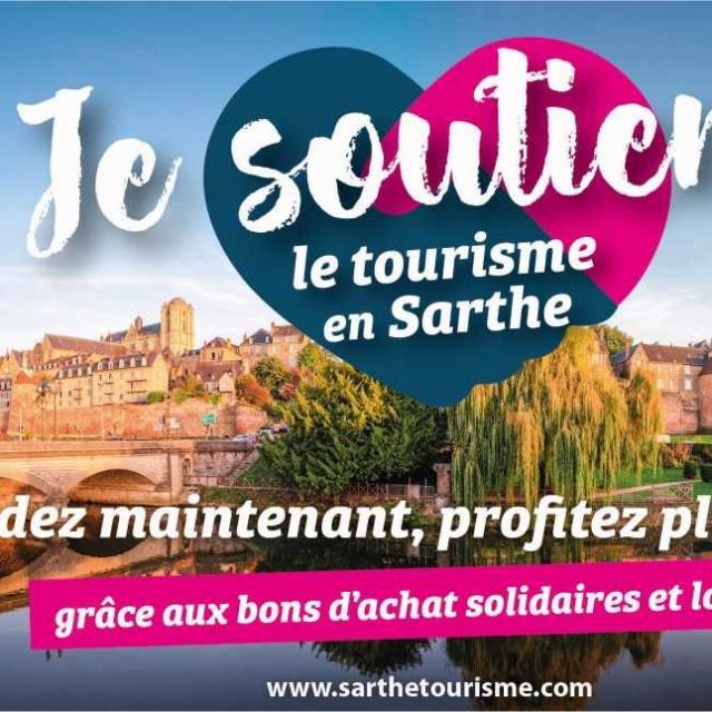 Je Soutiens Le Tourisme En Sarthe