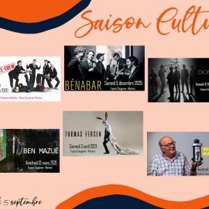 Visuel Annonce Saison Culturelle 2020 2021