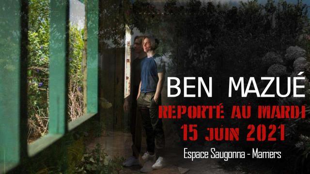 Visuel Report Ben Mazué