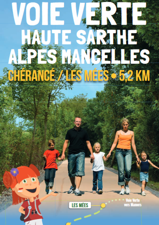 Visuel Voie Verte Haute Sarthe Alpes Mancelles