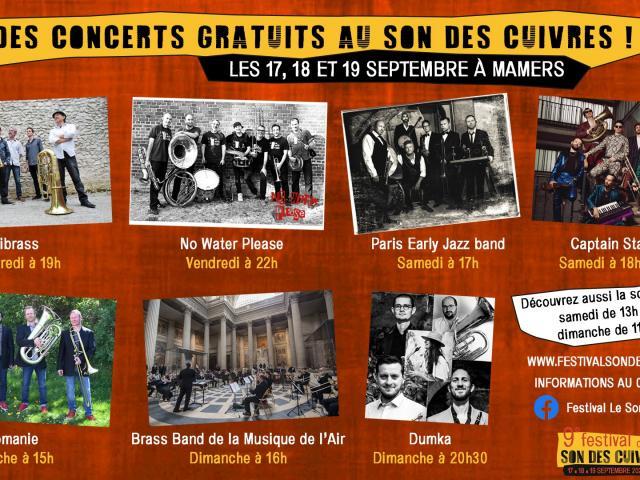 Concerts Gratuits Son des Cuivres 2021
