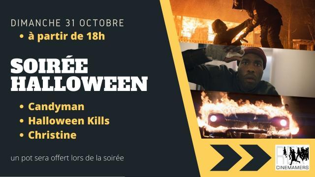 Soirée Halloween Cinéma Rex