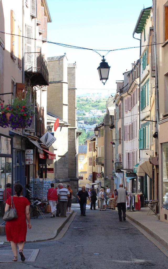 Rue du Soubeyrand, Mende